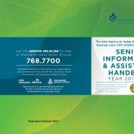 senior information & assistance handbook - City & County of Honolulu