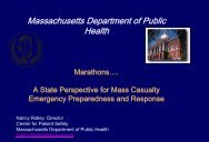 Nancy Ridley, MS - The 2012 Integrated Medical, Public Health ...