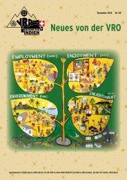 Neues von der VRO - VRO Schweiz