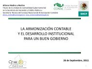 estrategia de armonización contable - Cefim