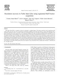 Resolution recovery in Turbo Spin Echo using segmented Half ...
