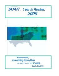 Year In Review - Southeastern Universities Research Association