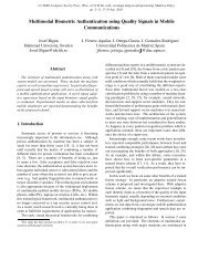 Multimodal Biometric Authentication using Quality Signals in Mobile ...