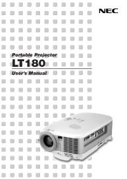 Portable Projector User's Manual