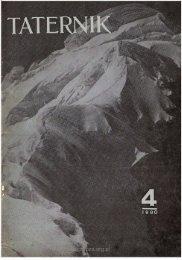 Taternik 4 1980 - Polski Związek Alpinizmu