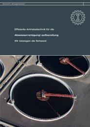 Effiziente Antriebstechnik für die ... - Alfred Imhof AG