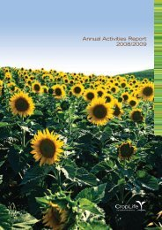 Annual Activities Report 2008/2009 - CropLife Africa Middle East