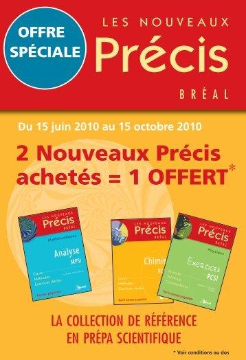 FlyerPrecis:Mise en page 1 - Editions Bréal