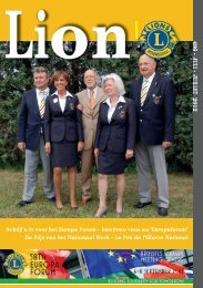 2 - Lions Clubs International - MD 112 Belgium