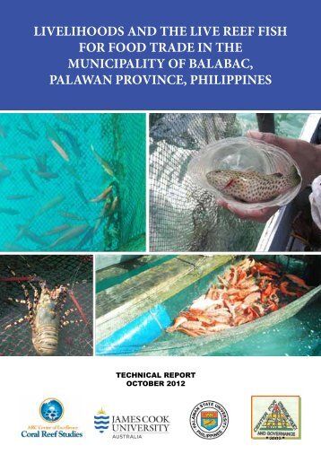 Evaluation of policy options for the live reef food fish trade for Live fish food