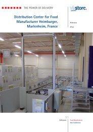 Distribution Center for Food Manufacturer Heimburger ... - viastore