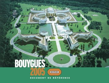 DOCUMENT D E R É F É R E N C E - Bouygues