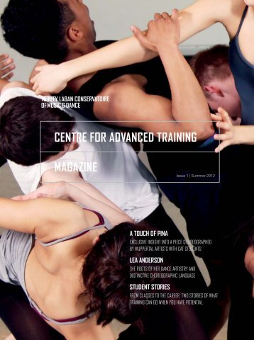 CENTRE FOR ADVANCED TRAINING MAGAZINE - Laban