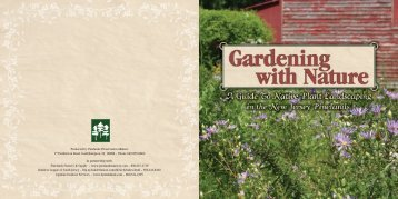 A Guide to Native Plant Landscaping in the New Jersey Pinelands