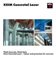 KEIM Concretal Lasur - KEIM Mineral Paints Ltd