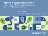 Moving Virtualization Forward: How emerging data center ... - VMware