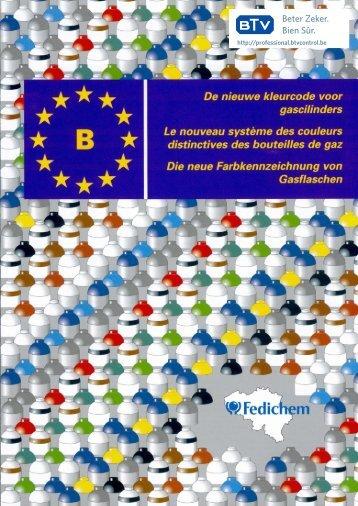 Europese kleurcode gascilinders