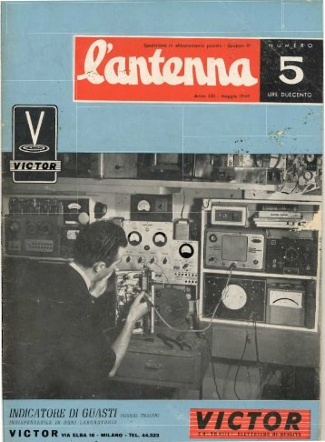 L'antenna 1949 - Introni.it