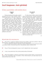 Pracovní list č. 1 - Pf UJEP