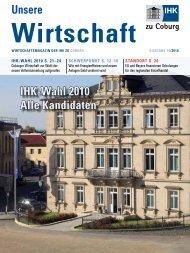 Unsere IHK-Wahl 2010 Alle Kandidaten - Industrie und ...