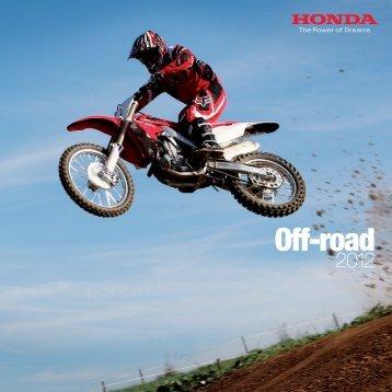Off-road - Honda