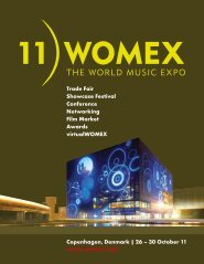 WOMEX 11 Guide