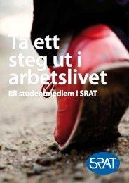 Rekryteringsbroschyr student - SRAT
