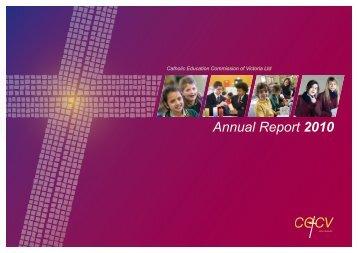 Annual Report - Catholic Education Commission of Victoria