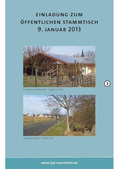 einladung zum öffentlichen stammtisch 9. januar 2013
