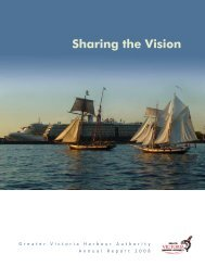 Annual Report 2008 - Greater Victoria Harbour Authority
