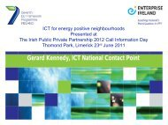 EI PPP June23 Gerard Kennedy_ICT_EeB (pdf) - Seventh EU ...