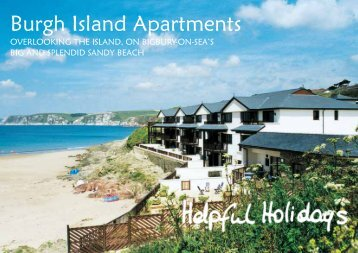 Burgh Island Apartments - Helpful Holidays