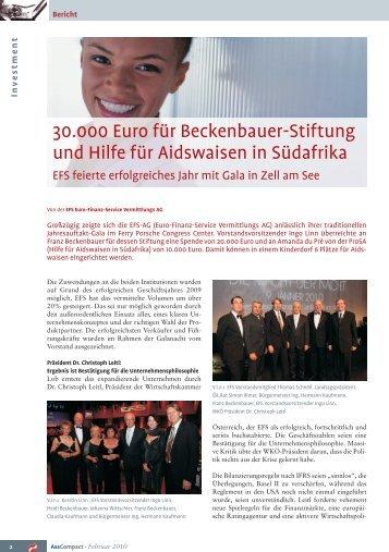 01/2010 - EFS Euro Finanz Service Vermittlungs AG