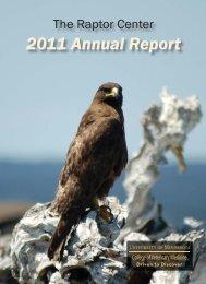 2011 Annual Report - Raptor Center, University of Minnesota