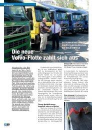 Die neue Volvo-Flotte zahlt sich aus
