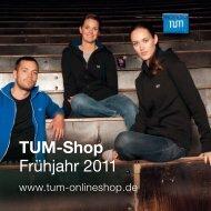 TUM-Shop Frühjahr 2011