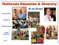 Multiscale Education & Diversity - cmmap