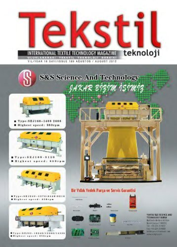 Download this publication as PDF - Tekstil Teknoloji