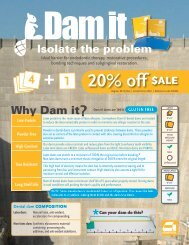 Dental Dams Sell Sheet - Germiphene