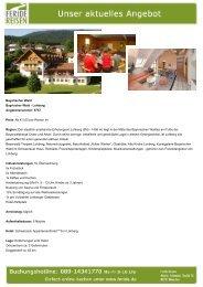 Bayerischer Wald - Eventreisen - Trierischer Volksfreund