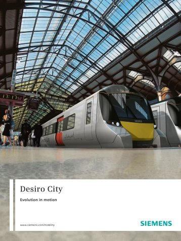 Desiro City Booklet - Industry UK - Siemens