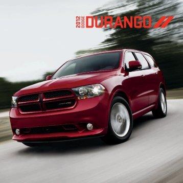 2012 Durango brochure - Dodge