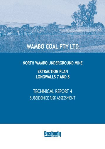 Technical Report 4 - Peabody Energy