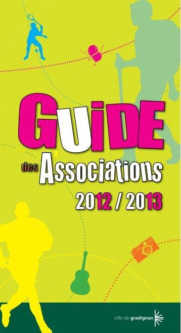 guide des associations complet - Gradignan