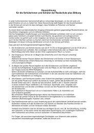 Hausordnung für die Schülerinnen und Schüler der Realschule plus ...