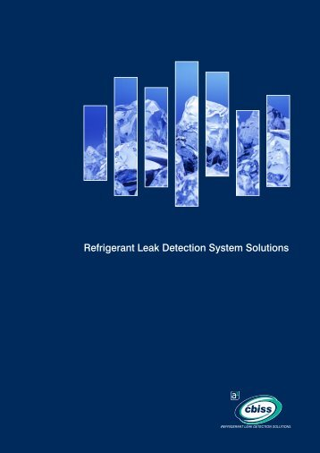 Refrigerant Leak Detection Solutions Brochure - A1 Cbiss