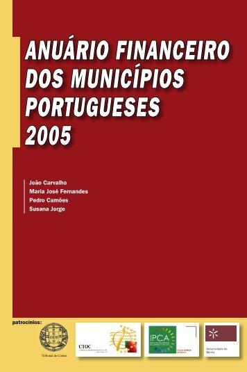 ANUÁRIO FINANCEIRO DOS MUNICÍPIOS PORTUGUESES 2005