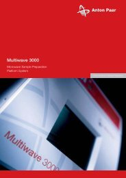 Multiwave 3000 (PDF) - MEP Instruments