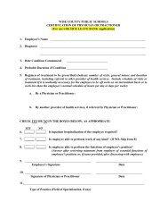 Sick Leave Bank Enrollment Form - Wise County Public Schools
