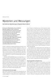 Mysterien und Messungen - Raum, Klang, Architektur 1920